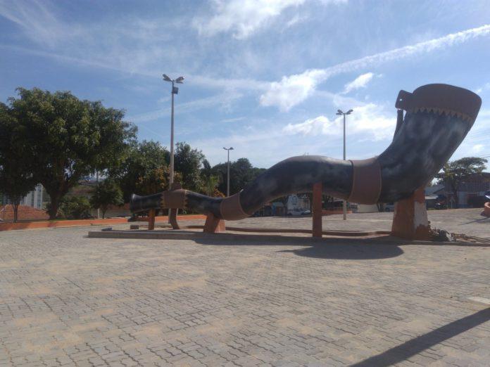 Praça do Berrante.
