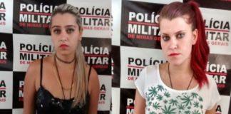 Irmãs foram detidas nesta segunda-feira (27)
