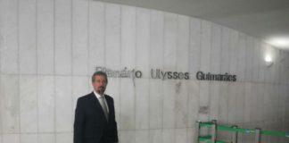 Prefeito Mauricio Lemes de Carvalho.