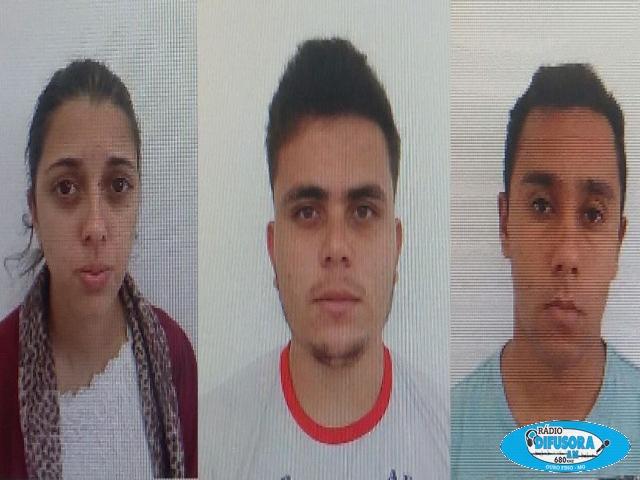 Suspeitos foram presos na manhã desta quinta-feira (09).