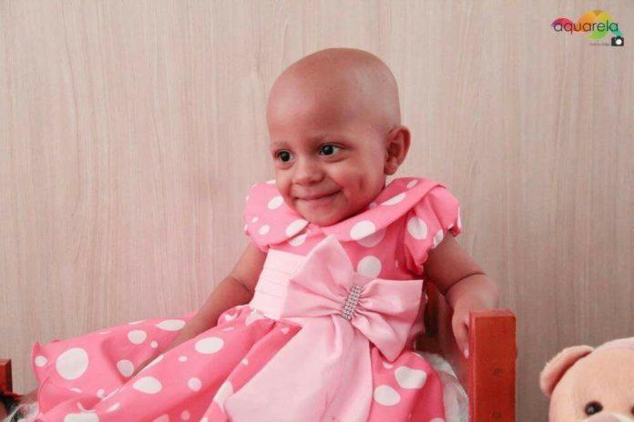 Daysirre luta contra câncer raro e precisa de ajuda para sobreviver