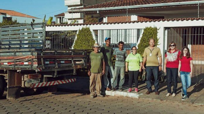 Equipe do projeto de Coleta Seletiva