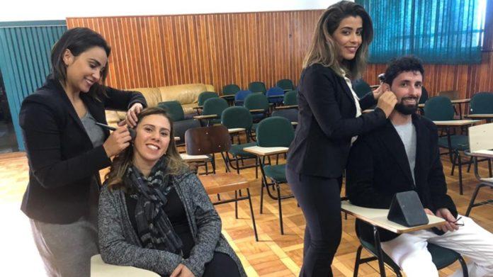 Funcionários da prefeitura recebem cuidados na pele