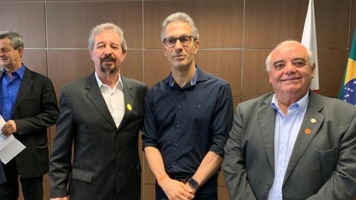 Preifeto Maurício, Romeu Zema e Dalmo Ribeiro