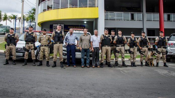 Novo posto policial de Ouro Fino