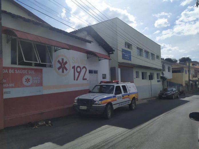 Vítima foi levada ao hospital de Santa Rita de Caldas