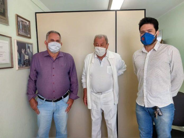 Toninho Franceli, Dr. Geraldo e Bruno Zucareli