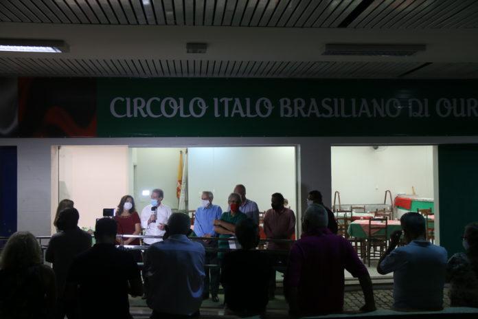 Novo espaço do Círculo Italiano