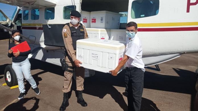 Doses da vacina contra a Covid-19 para o Sul de Minas