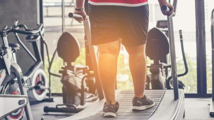 Atividade física para obesos